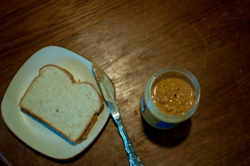 half-way stirred peanut butter is still ok to make a sandwich with