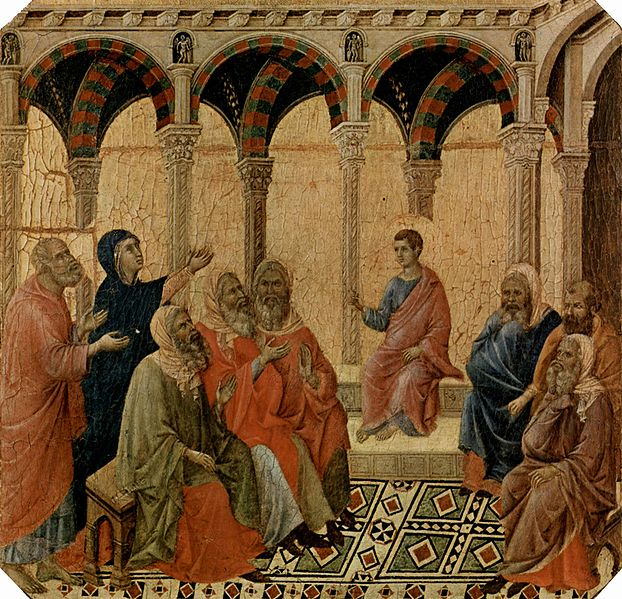 Duccio_di_Buoninsegna_Finding Jesus In the Temple